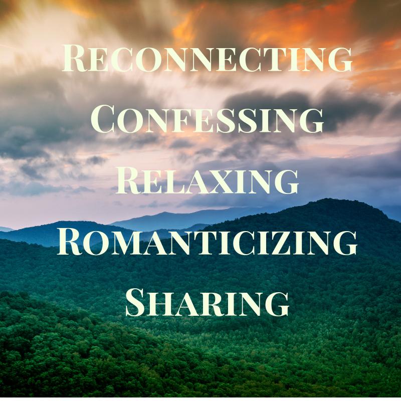 ReconnectingConfessing RelaxingRomanticizingSharing